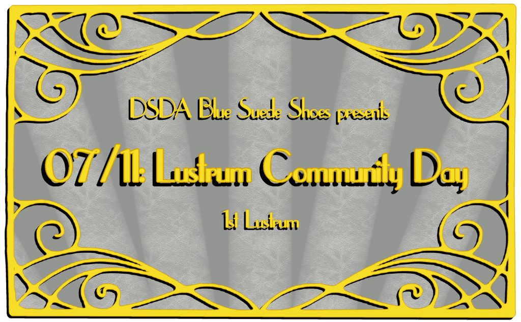 Lustrum Community Day banner